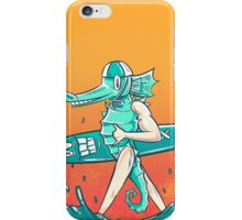 Gnarly Seashorse iPhone Case/Skin