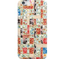 Cool patchwork country style gifts  iPhone Case/Skin