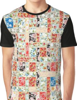 Cool patchwork country style gifts  Graphic T-Shirt