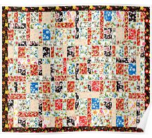 Cool patchwork country style gifts  Poster