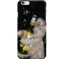 Beer bunny iPhone Case/Skin