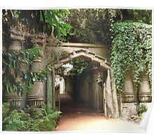 Highgate Cemetery Egyptian Gateway Poster