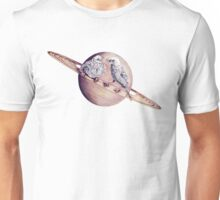 In which bird watching may require the aid of a telescope Unisex T-Shirt