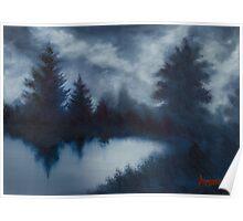 Landscape Silhouette Poster