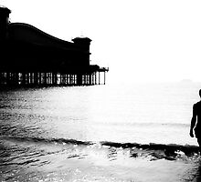 Weston Pier by Theresa Selley