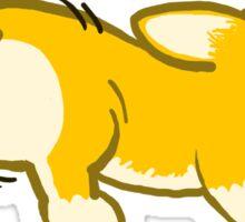 Twerk Team - Corgi Butt Sticker