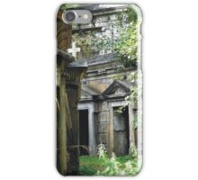 Highgate Cemetery within the Circle of Lebanon iPhone Case/Skin