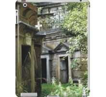 Highgate Cemetery within the Circle of Lebanon iPad Case/Skin