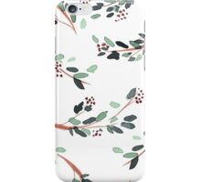Watercolor Branches with Berries iPhone Case/Skin