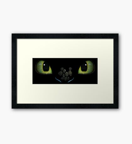 How To Train Your Dragon 3 Framed Print