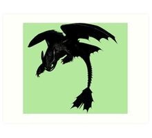 How To Train Your Dragon 4 Art Print