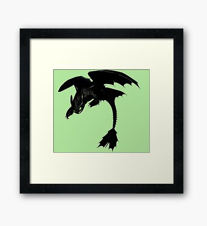 How To Train Your Dragon 4 Framed Print