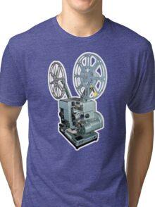 16mm Film Projector Tri-blend T-Shirt