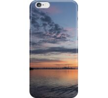 Toronto Skyline in Pastel Blue, Pink, Yellow, Orange and Purple iPhone Case/Skin