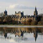 Oxford Flood Reflection by Elena J