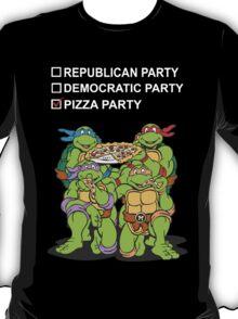 Ninja Turtles Pizza Party T-Shirt