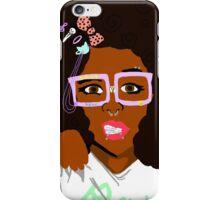 Alternative Black Girl 1 iPhone Case/Skin