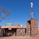 Catholic underground church - Coober Pedy by Hans Kawitzki