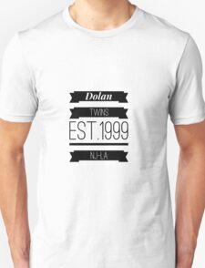 Dolan twins est.1999 nj-la #1 T-Shirt