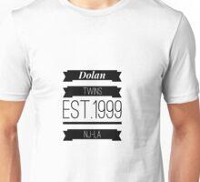Dolan twins est.1999 nj-la #1 Unisex T-Shirt