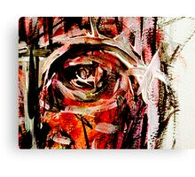 chief...a knowing glare Canvas Print