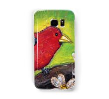 Scarlet Tanager Samsung Galaxy Case/Skin