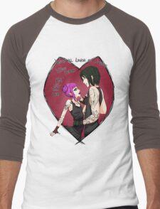 Loving Demons Men's Baseball ¾ T-Shirt