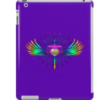 CROSS HEART RAINBOW iPad Case/Skin
