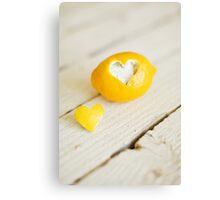 Lemon Love Canvas Print