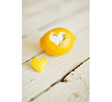 Lemon Love Photographic Print