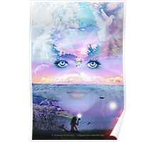 Filled With The Beauty of a Wandering Mind Poster