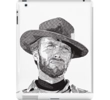 Clint iPad Case/Skin