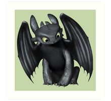 How To Train Your Dragon 6 Art Print