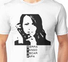 Root Person of interest STOP Unisex T-Shirt