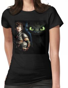 How To Train Your Dragon 8 Womens Fitted T-Shirt