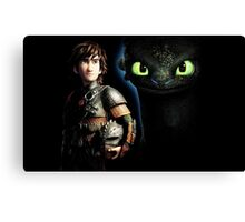 How To Train Your Dragon 8 Canvas Print