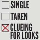 SHERLOCK SINGLE TAKEN CLUEING FOR LOOKS by fandomfashions