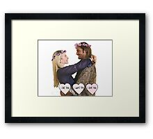 Juliet & Sawyer - Lost Framed Print