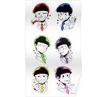 Osomatsu-san Brothers 2 Poster