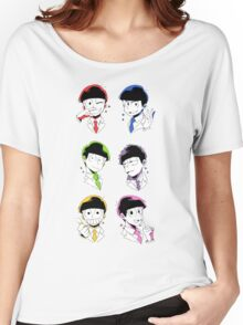 Osomatsu-san Brothers 2 Women's Relaxed Fit T-Shirt