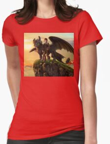 How To Train Your Dragon 10 Womens Fitted T-Shirt