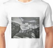 Half Dome, El Cap,Yosemite National Park Unisex T-Shirt