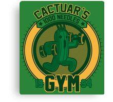 Cactuar´s Gym Canvas Print