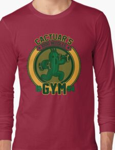 Cactuar´s Gym Long Sleeve T-Shirt