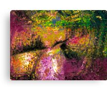 Effervescent Path Canvas Print