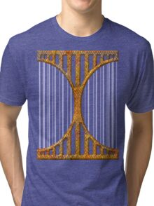Heart love retro style gifts Tri-blend T-Shirt