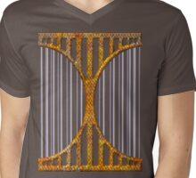 Heart love retro style gifts Mens V-Neck T-Shirt