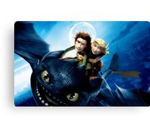 How To Train Your Dragon 7 Canvas Print