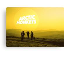 Arctic Monkeys Landscape Print Canvas Print