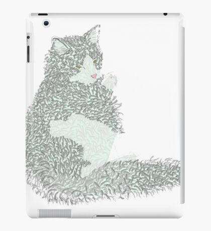 Mr Dobber Kitty iPad Case/Skin